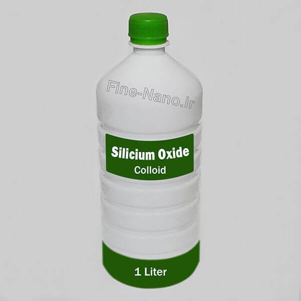 خرید محلول نانو سیلیکا. قیمت نانو محلول اکسید سیلیسیوم. فروش نانو کلوئید اکسید سیلیسیوم.